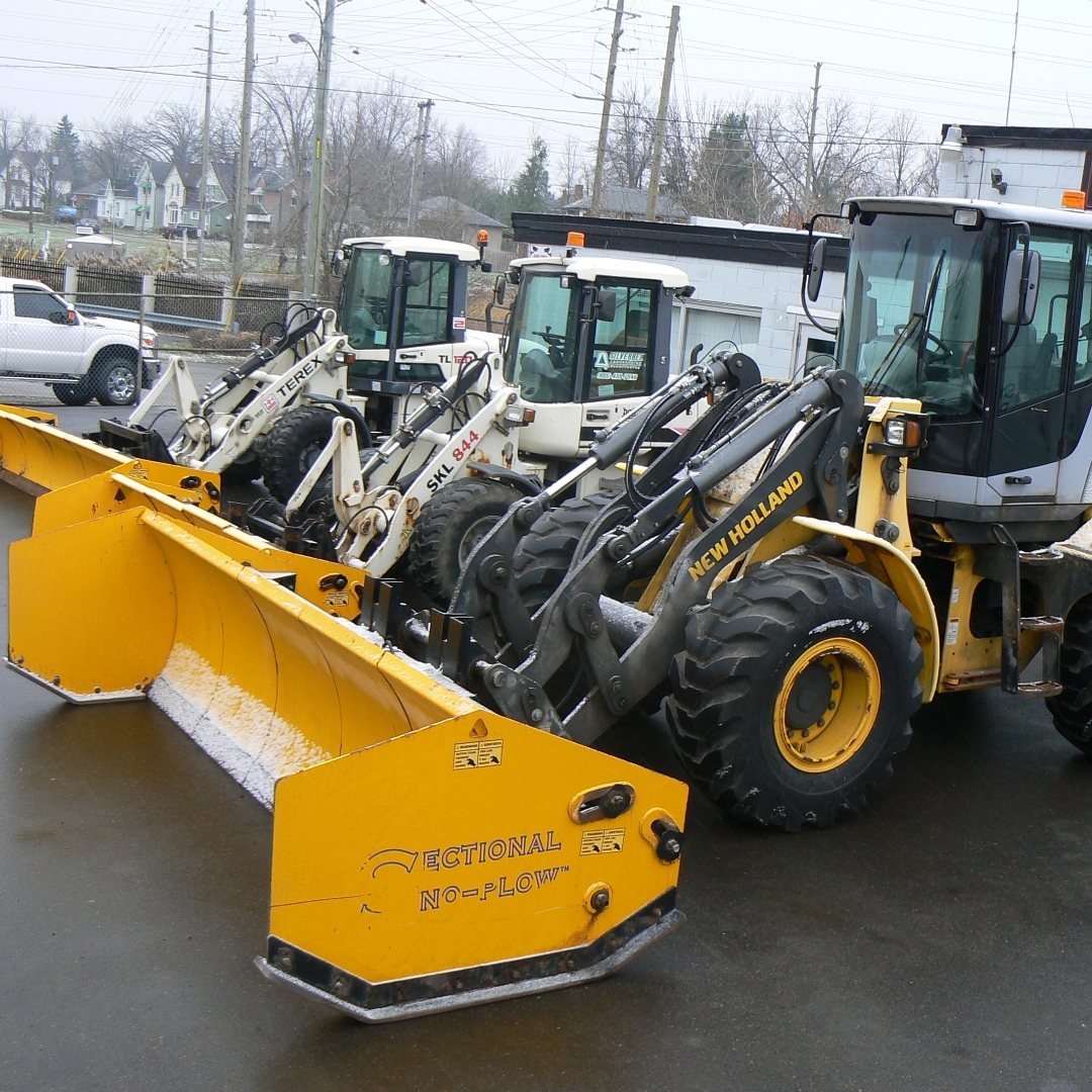 Snow removal services equipment - Silverbel Landscaping & Snowplowing