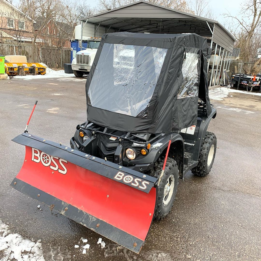 Parking lot snow removal - Silverbel Landscaping & Snowplowing
